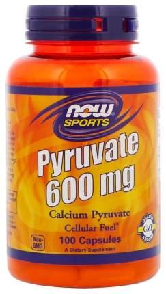 Кальций NOW Pyruvate Calcium 100 капс.