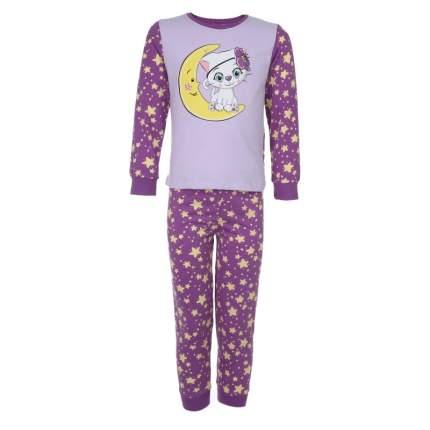 Пижама Let's Go! Фиолетовый р.128
