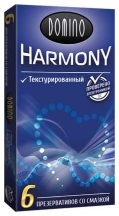 Презервативы Domino Harmony текстурированные 6 шт.