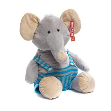 Мягкая игрушка Слон в одежде 55 см Нижегородская игрушка См-588-4