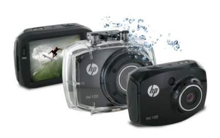 Видеокамера цифровая HP ac100 (цвет корпуса черный)