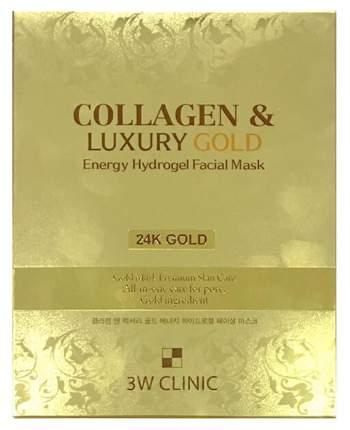 Маска для лица 3W Clinic Collagen & Luxury Gold Energy Hydrogel Facial Mask 30 мл