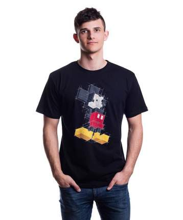 Мужская футболка Disney Mickey Pixels (Размер M)