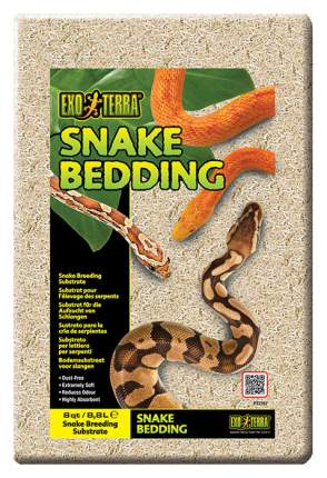 Грунт для террариума Exo Terra Snake Bedding, Змеиный, 8,8 л