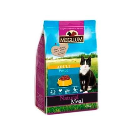 Сухой корм для кошек Meglium Adult, рыба, 1,5кг