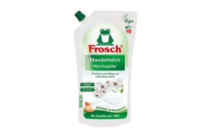 Ополаскиватель для белья Frosch концентрированный Миндальное молочко, 1 л