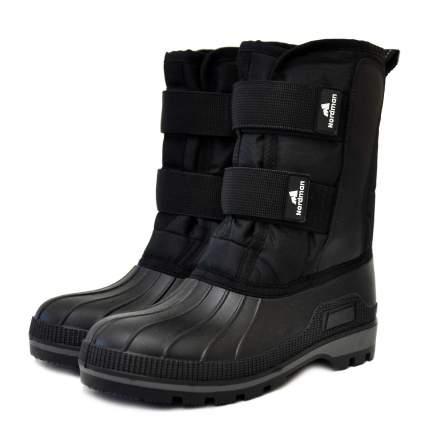 Ботинки для рыбалки Nordman Kraft на липучках, черные, 47 RU
