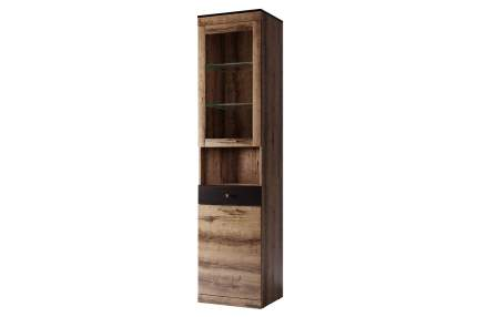 Платяной шкаф Hoff Jagger 80321037 50,2х35,3х210, дуб монастырский/чёрный