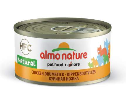 Консервы для кошек Almo Nature HFC Natural, курица, 24шт, 70г