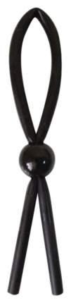 Эрекционное лассо Bior toys силиконовое черный