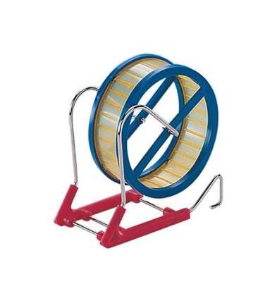 Беговое колесо для грызунов Nobby на металлической подставке, в ассортименте, диаметр 12см