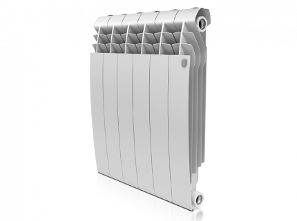Радиатор биметаллический Royal Thermo BiLiner Bianco Traffico 574x480
