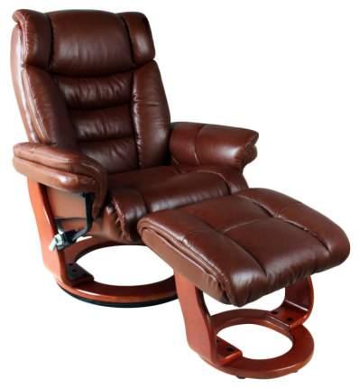 Кресло для гостиной Duorest 105х81х132 см, коричневый/красный