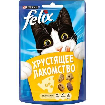 Хрустящее Лакомство для кошек Felix с сыром, 15шт. по 20г