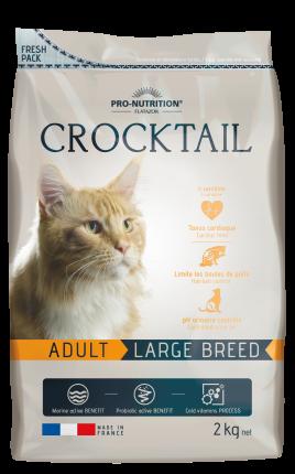 Корм для взрослых кошек FLATAZOR CROCKTAIL ADULT LARGE BREED крупных пород 2кг