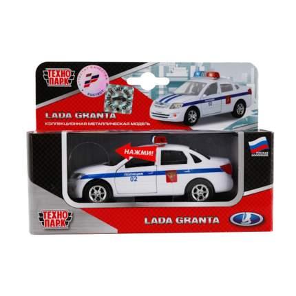 Полицейская Машинка Технопарк Lada Granta 1:43 Полиция
