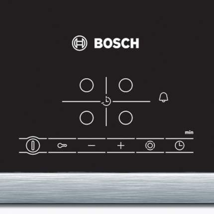 Встраиваемая варочная панель электрическая Bosch PKF645B17 Black