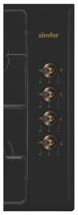 Встраиваемая варочная панель газовая Simfer H60Q40L411 Black