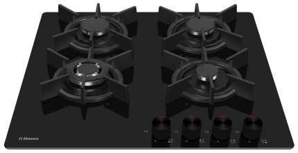 Встраиваемая варочная панель газовая Hansa BHKS61138 Black