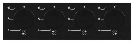 Встраиваемая варочная панель газовая Schaub Lorenz SLK GS6010 Black