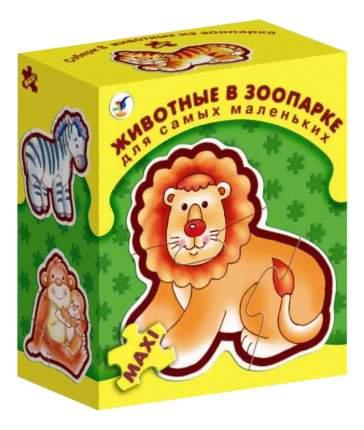 Семейная настольная игра Дрофа-Медиа Животные в зоопарке