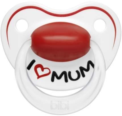Пустышка силиконовая BIBI Premium Dental, 6-16 мес., Mum/Dad (113720)