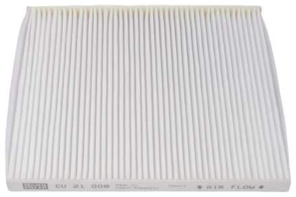 Фильтр воздушный салона MANN-FILTER CU21008