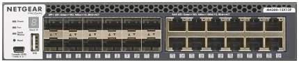 Коммутатор NetGear M4300-12X12F Черный