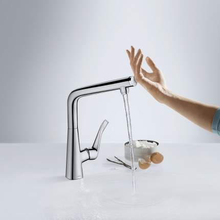 Смеситель для кухонной мойки Hansgrohe Talis Select S 300 72820000 хром