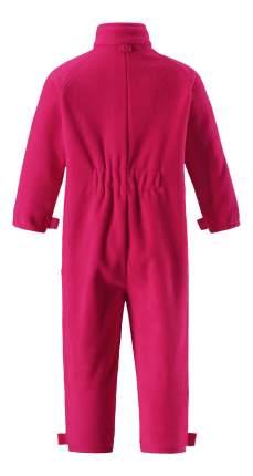 Комбинезон детский Reima Fleece overall Ester 74-98 р розовый флисовый р.98