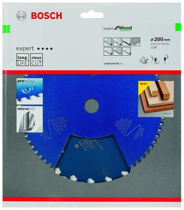 Пильный диск по дереву Bosch EXP WO 200x30-24T 2608644051