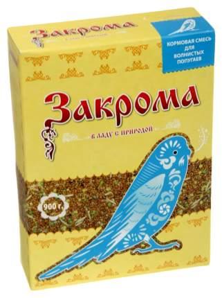 Основной корм Закрома для волнистых попугаев 900 г, 1 шт