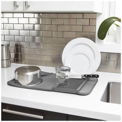 Коврик для сушки посуды Umbra Udry 1004301-149 Серый