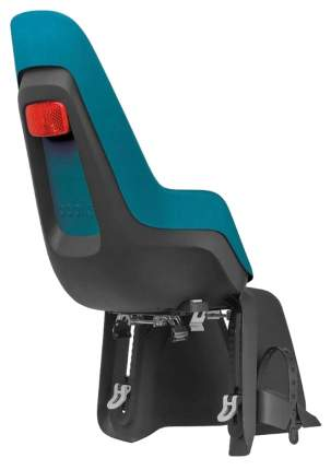 Велокресло Bobike One Maxi с креплением на багажник Bahama blue