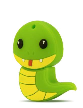 USB-флешка MIREX Snake 16GB Green (13600-KIDSNG16)