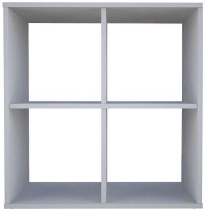 Стеллаж Polini Home Smart Кубический 4 секций, Белый