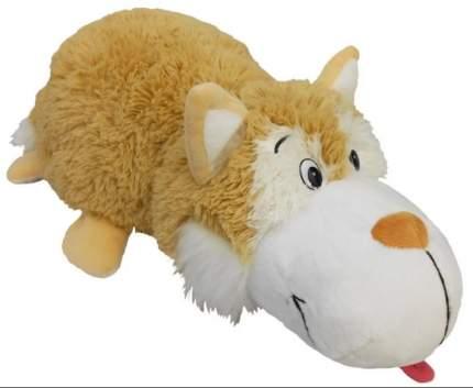 Мягкая игрушка 1 TOY Вывернушка 40 см 2 в 1, коричневый хаски-Полярный Медведь (Т12332)