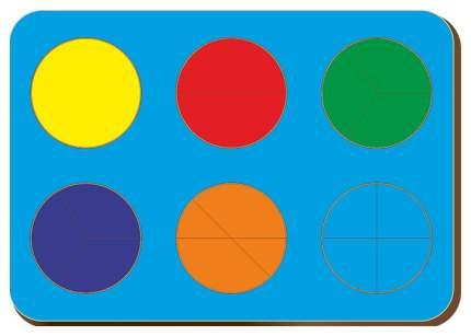Дроби, Б,П,Никитин, 6 кругов, 240*170 мм