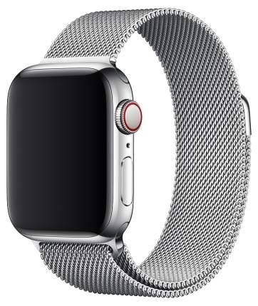 Ремешок для смарт-часов Apple Milanese Loop для Apple watch 40 mm silver (MTU22ZM/A)