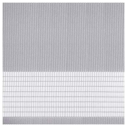 Рулонная штора Эскар День-Ночь 170х98 цвет серый