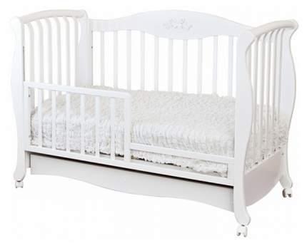 Кровать детская Красная Звезда Елизавета С 553 накладка № 27 бабочка Ваниль