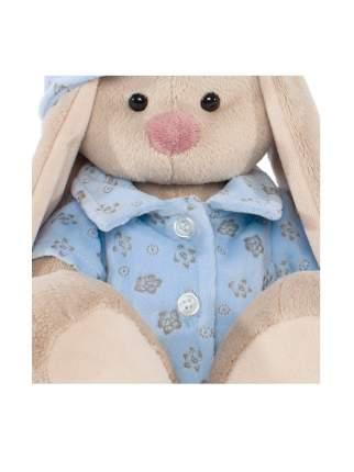 Мягкая игрушка BUDI BASA Зайка Ми в голубой пижаме 18 см