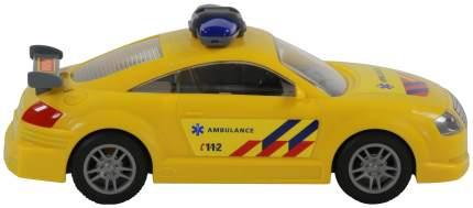 Автомобиль скорая помощь Полесье инерционный