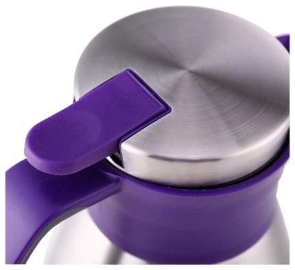 Термос Emsa Soft Grip 1,5 л серебристый/фиолетовый
