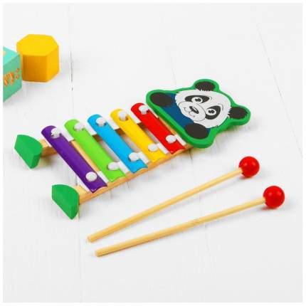 Металлофон игрушечный Sima-Land Панда 3567125