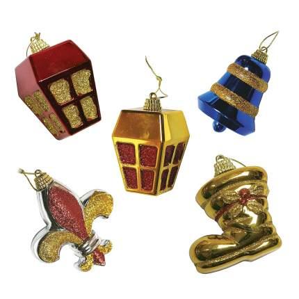 Набор елочных игрушек Mister Christmas Коктейль 12 шт 6 см