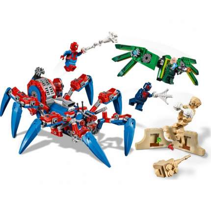 Конструктор человек паук BELA 11187 Паучий вездеход