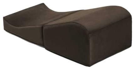 Подушка для любви Liberator Retail Flip Ramp большая, кофейный вельвет 14730544