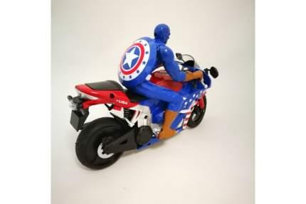 Радиоуправляемый мотоцикл Yongxiang Toys Капитан Америка с гироскопом 2.4G 8897-202A