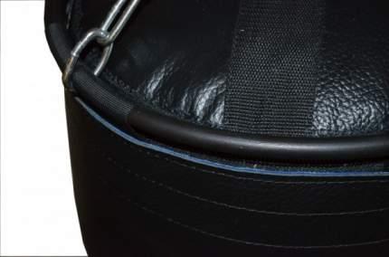 Боксерский мешок РОККИ натуральная кожа 180 *40 см черный 70кг